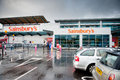 Sainsbury s store in manchester uk sep on september ashton under lyne england is one of the largest chains Stock Images