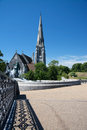 Saint Albans Church, Copenhagen, Denmark Royalty Free Stock Photo
