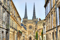 Saint Andre Cathedral of Bordeaux, France Royalty Free Stock Photo