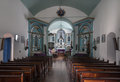 Saint anthony church lapa parana the interior of in brazil Stock Image