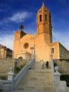 Saint Bartomeu Church Stock Images
