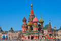 Saint basil cathedral moscow red square s the of the protection of most holy theotokos on the moat Stock Photo
