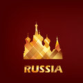 Saint basil cathedral symbol russia moscow Stock Photography