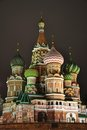 Saint Basil's Cathedral. Stock Photos