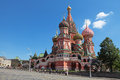 Saint Basil's Cathedral Stock Photos