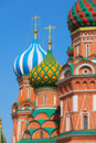 Saint basil s cathedral cathedral of vasily the blessed or pokr in moscow red square russia pokrovsky Stock Image
