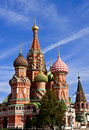 Saint Basil's Cathedral, Moscow Stock Photos