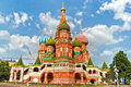 Saint Basil´s Cathedral, Red Square, Moscow, Russia Royalty Free Stock Photo