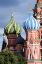 Saint Basils Cathedral on the Red Square in Moscow, Russia. Royalty Free Stock Photo