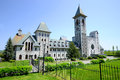 Saint benedict abbey in an in benoit du lac quebec canada and was founded in by the exiled fontenelle of st Stock Images