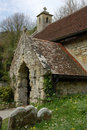 Saint Boniface Church, Bonchurch Stock Images