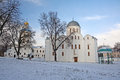 Saint boris and gleb cathedral and collegium Royalty Free Stock Photo