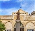 Saint Catherine Church Nativity Church Bethlehem Palestine Royalty Free Stock Photo