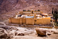 Saint Catherine's Monastery Royalty Free Stock Images