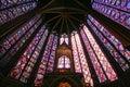 Saint Chapelle Upper Chapel - Paris