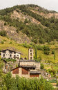 Saint Climent church in Pal, Andorra Royalty Free Stock Photo