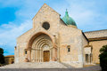 Saint cyriacus cathedral in ancona italy Royalty Free Stock Photos