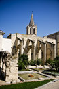 Saint Didier church in Avignon Stock Photos