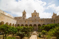 Saint dominic in malta the church rabat Royalty Free Stock Photos