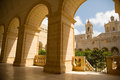 Saint dominic in malta the church rabat Stock Image