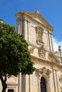 Saint dominic in malta the church rabat Stock Photo