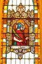 Saint Donatus of Arezzo Stained Glass Windo
