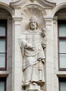 Saint Dunstan statue, London Royalty Free Stock Photos