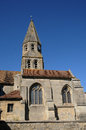 The saint etienne church of bouconvillers in picardie france Royalty Free Stock Image