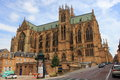 Saint etienne de metz gothic cathedral in the moselle valley Stock Photography