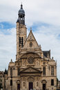 Saint Etienne du Mont Church Paris Stock Images