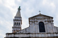 Saint Euphemia Cathedral in Rovinj Royalty Free Stock Photo
