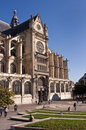 Saint Eustache church, Les Halles, Paris Royalty Free Stock Photo