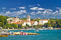 Saint filip and jacob coast view adriatic village of dalmatia croatia Royalty Free Stock Photos
