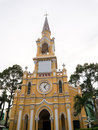 The saint francis church cham tam church in ho chi minh vietnam cholon also called it was built at end of th century Stock Photo