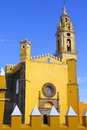 Saint gabriel convent ii franciscan friary of archangel city of cholula mexican state of puebla Stock Photo