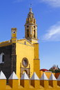 Saint gabriel convent v franciscan friary of archangel city of cholula mexican state of puebla Stock Images