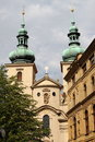 Saint Gallus church in Prague Royalty Free Stock Photography