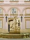 Saint George Fountain in Bratislava, Slovakia