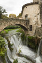 Saint Guilhem le desert Stock Images