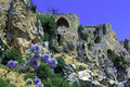 Saint Hilarion Castle, Kyrenia, Cyprus Stock Photos