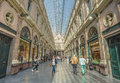 Saint Hubert Gallery in Brussels Royalty Free Stock Photo