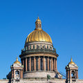 Saint isaac cathedral in saint petersburg isaakievskiy sobor russia Royalty Free Stock Photography