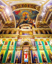 Saint Isaac Cathedral in St Petersburg Stock Images