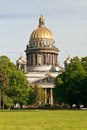 Saint isaac cathedral st petersburg russia back view Royalty Free Stock Photo