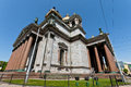 Saint isaac cathedral st petersburg russia may facade of one of the most important religious places in Stock Photo
