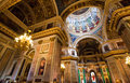 Saint isaac cathedral st petersburg russia may inside which is absolutely decorated with paintings and bas reliefs on th may in Stock Image