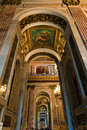 Saint isaac cathedral st petersburg russia may inside which is absolutely decorated with paintings and bas reliefs on th may in Stock Photos