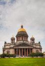 Saint Isaac's Cathedral (Isaakievskiy Sobor) in Saint Petersburg Royalty Free Stock Images