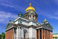Saint Isaac's Cathedral in St Petersburg, Russia Royalty Free Stock Image