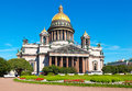Saint Isaac's Cathedral in St. Petersburg Royalty Free Stock Photo